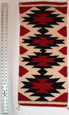 "Fourth Night | Navajo Rug 15""x32"""