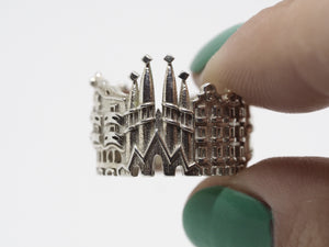 Cityscape Rings by Ola Shekhtman