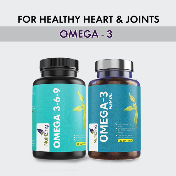 Omega fish oils for healthy heart & joints