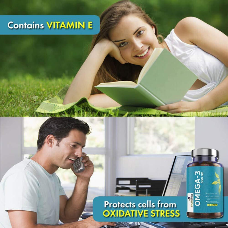 Omega 3 Fish Oil Vitamin E