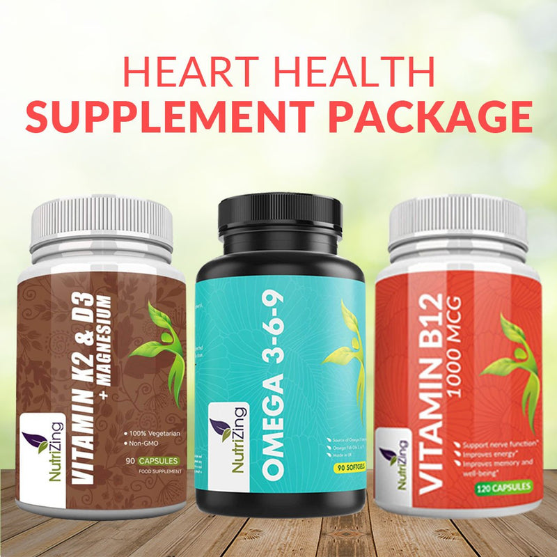 Heart Health Supplement Package