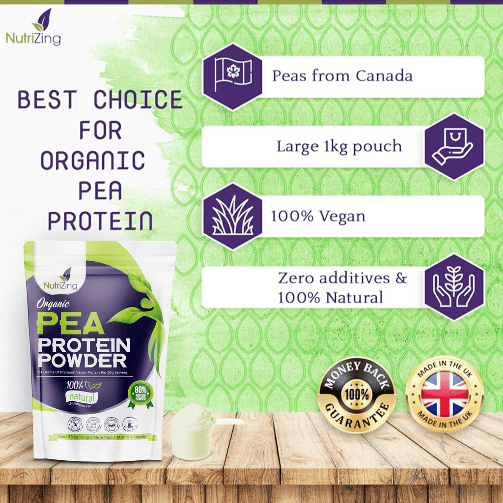 Natural Organic Pea Protein Powder