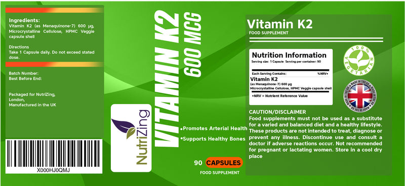 Vitamin k2 supplements