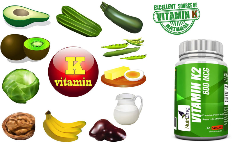 Natural vitamin k2 sources