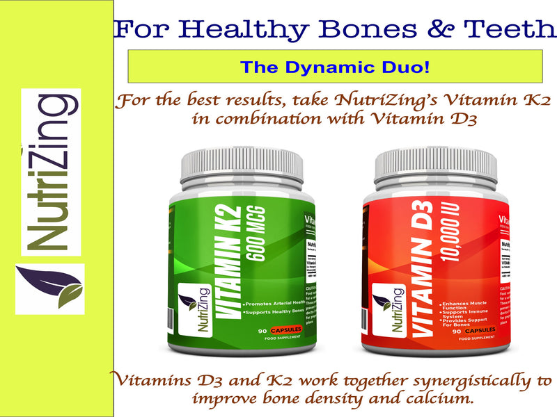 Vitamin K2 for bones & teeth