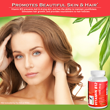 vitamin b12 for skin and hair