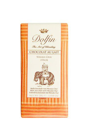 Chocolate 30g Milk Masala Chai Dolfin