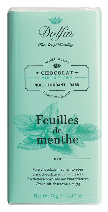 Chocolate 70g Dark Mint Dolfin