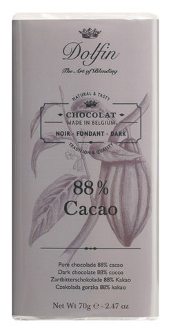 Chocolate 70g Dark 88% Dolfin