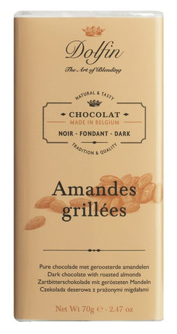 Chocolate 70g Dark Almond Dolfin