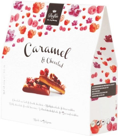 Chocolate Caramels with Berries