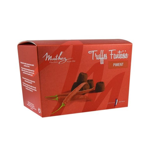 Chili Chocolate Truffle 100g - Mathez
