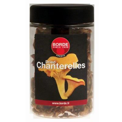 Dried Chanterelle mushrooms 30g Borde