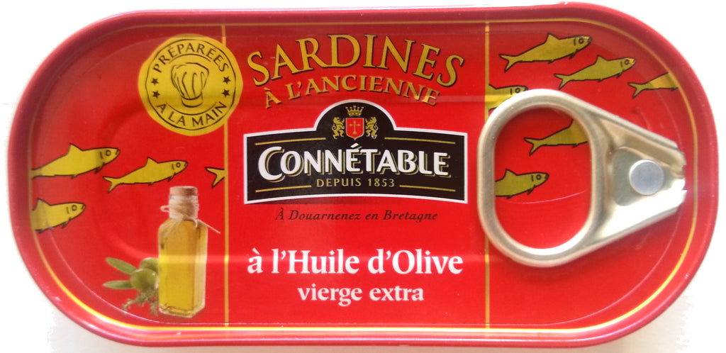 Sardines whole in Olive Oil 55g Connetable
