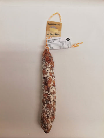 Saucisson Pur Porc with Beaufort cheese 150g