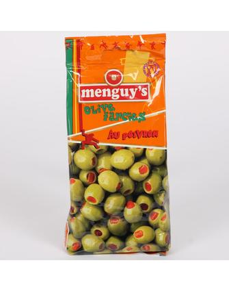 Menguys Olives With Sweet Bell Pepper 150G