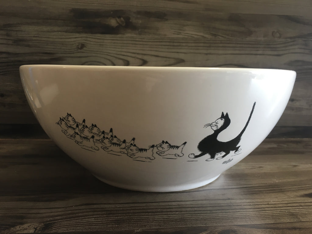 Cats of Dubout Salad Bowl
