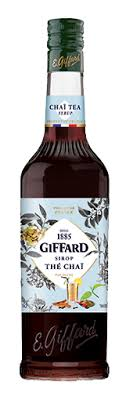 Chai Tea Syrup 700ml Giffard