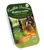Vacuum Packed Chestnut 400g Cueillette Descours