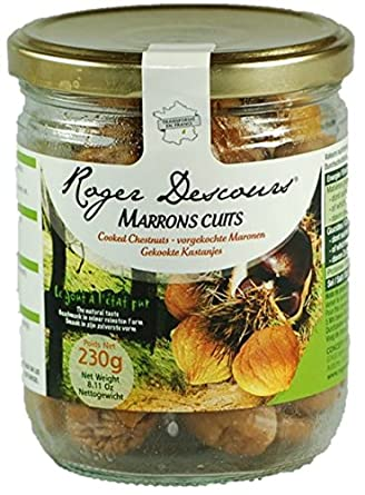 Chestnuts Cooked 230g Jar
