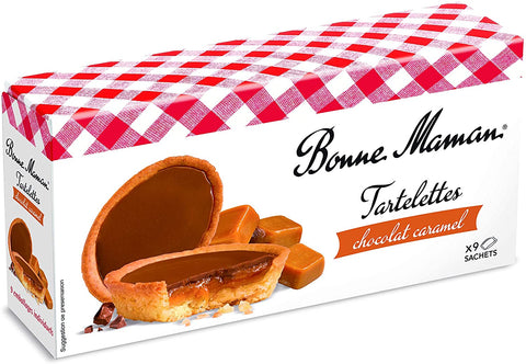 Bonne Maman Chocolate Caramel Tartlets