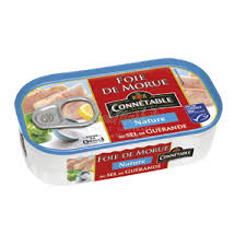 Cod Liver Natural with Salt