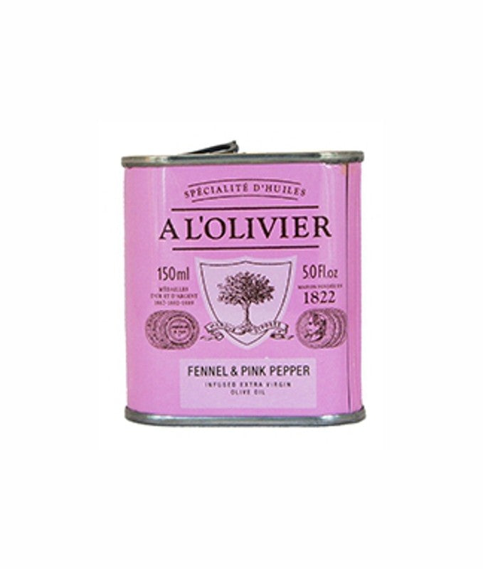 A L'Olivier Olive Oil with Fennel and Pink peppercorn 150ml