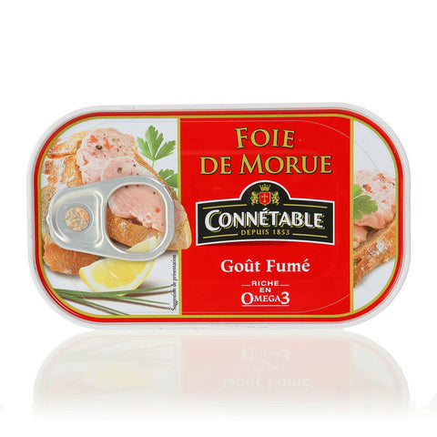 Cod Liver 121g Smoked Connetable