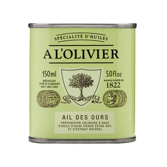 A L'olivier Olive oil with Wild Garlic 150ml