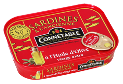 Sardine whole in Olive Oil 115g Connetable