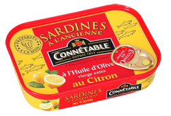 Sardines whole in Olive Oil and Lemon 115g Connetable