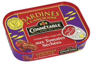 Sardines whole in Tomato sauce 115g Connetable