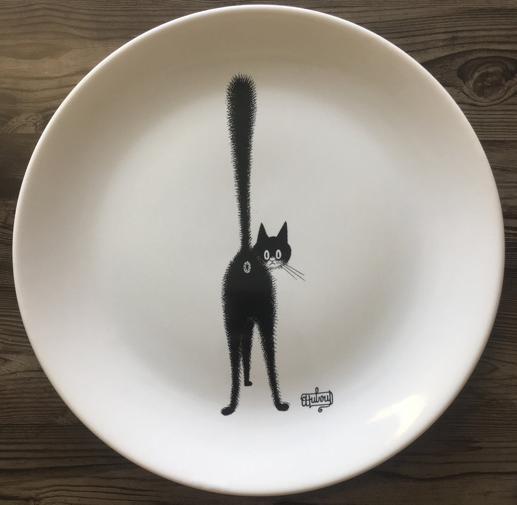 Cats of Dubout Large Plate