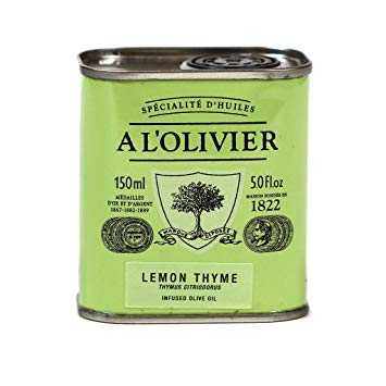 A L'Olivier Olive Oil with Lemon & Thyme 150ml