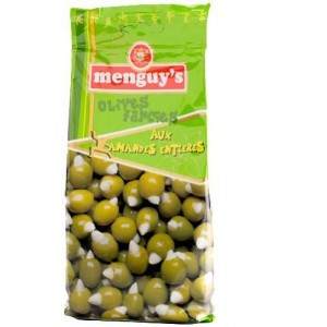 Menguys Olives stuffed with almonds 150g