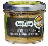 Green Olive Paste with Fennel 100g Barnier