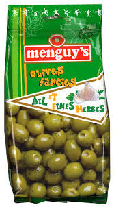 Menguys Olives with Garlic and Herbs