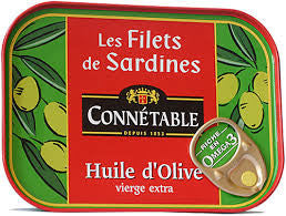 Sardine Fillets in Olive Oil 100g Connetable