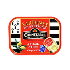 Sardines of Bretagne in Extra Virgin Olive Oil 135g Connetable