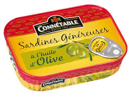 Sardine Whole in Olive Oil 140 g Connetable