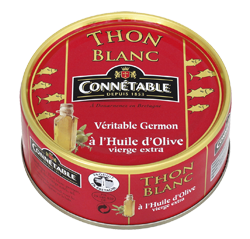 White Germon Tuna in Oil 80g Connetable