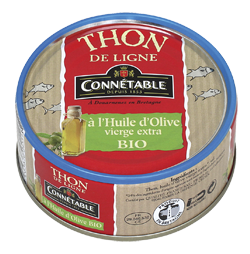 Tuna caught by line - Organic 160g Connetable