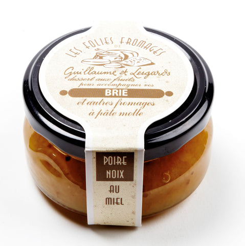 Fruit Spread for Brie - Pear, Walnut & Honey 120g