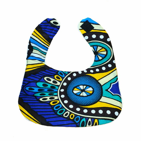 Circus Cotton Bib