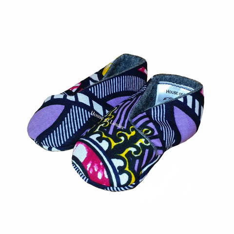 Purple Spring Baby Soft Shoes