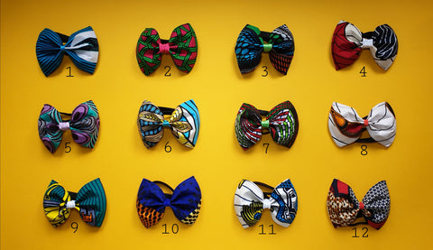 Head Bows & Bow Ties