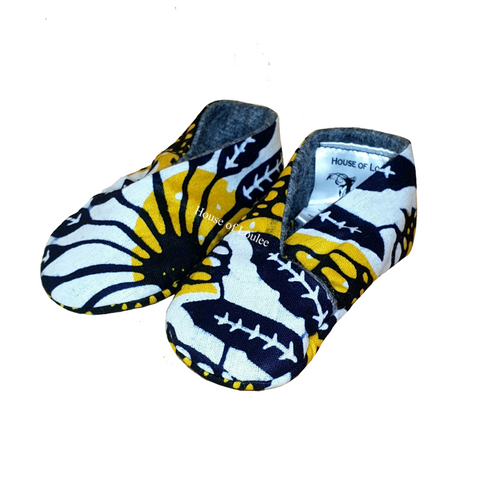 Yellow Lion Baby Soft Shoes