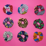 African Print Scrunchie Hair Band