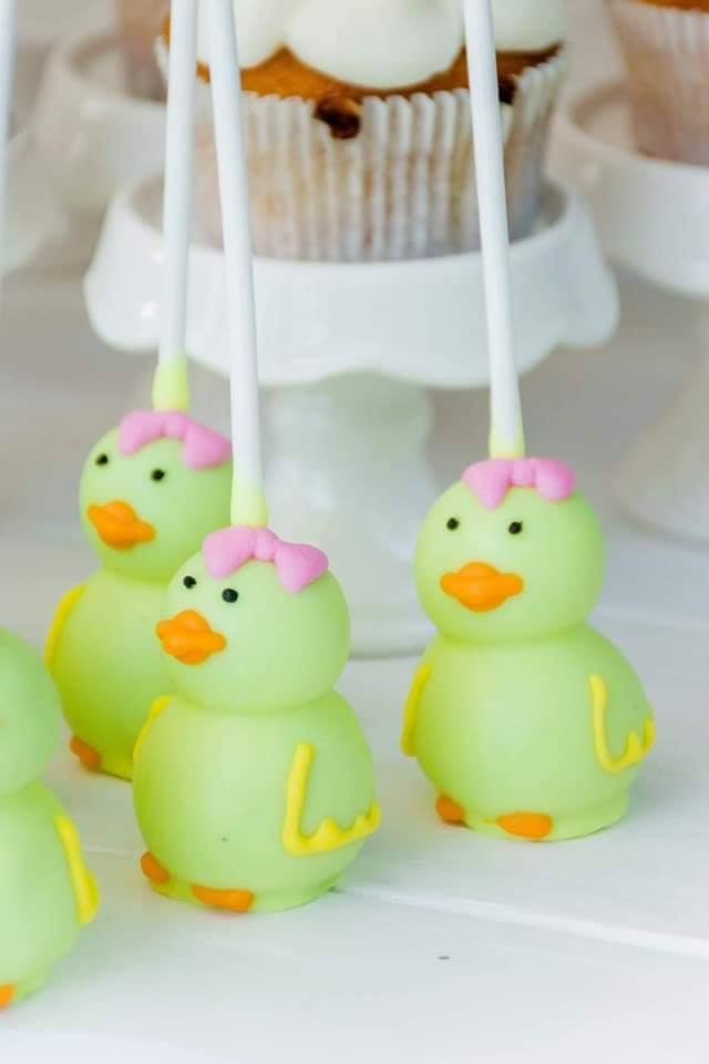 Rubber Duck Cake Pops, Little Printables Shop