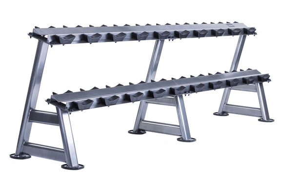 10 Pair Dumbbell Rack (2 tier)